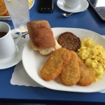Breakfast at Charly's Airport Restaurant