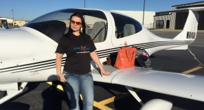 Katia First GA Flight