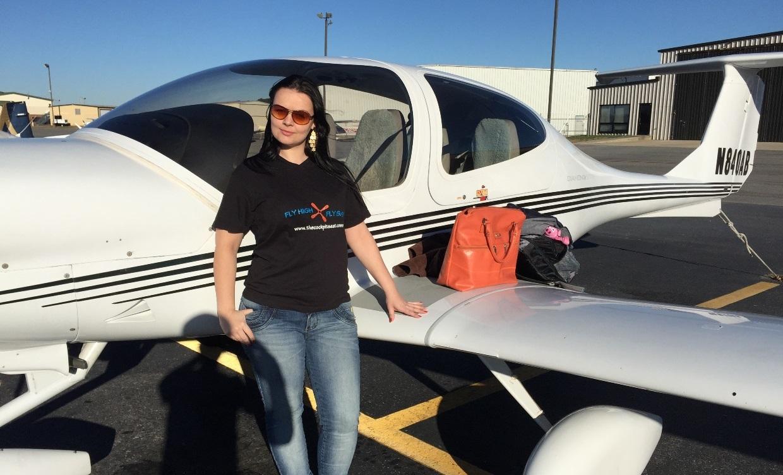 Katia First GA Flight